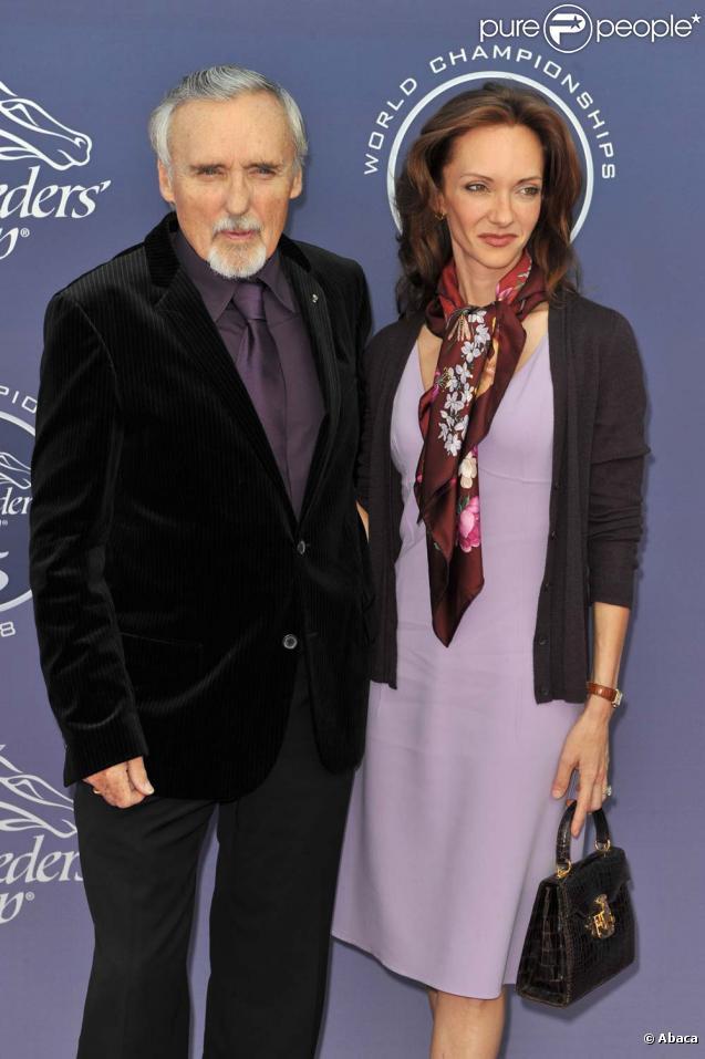 Mariés pendant 14 ans, Dennis Hopper et Victoria ont demandé le divorce, janvier 2010 !