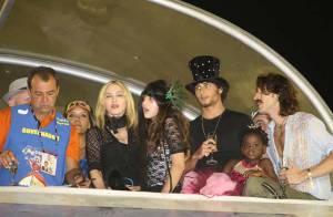 Madonna et Jesus Luz ont vécu un carnaval endiablé... avec leurs princesses Mercy et Lourdes !