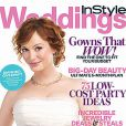 Christina Hendricks en couverture du  In Style Weddings.