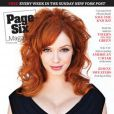Christina Hendricks en couverture du  Page Six Magazine.