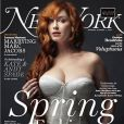 Christina Hendricks en couverture du  New York Magazine.