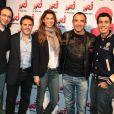 L'équipe du  6/9 d'NRJ  entourée de José Garcia et Catalina Denis.