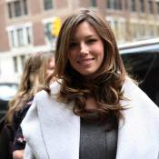 Jessica Biel : un véritable ange à New York... pour supporter son homme !
