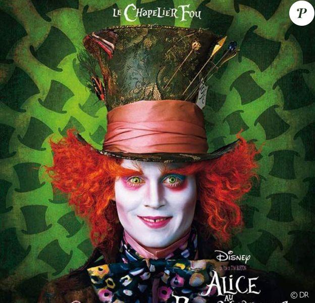 Des images d'Alice au pays des merveilles, de Tim Burton.