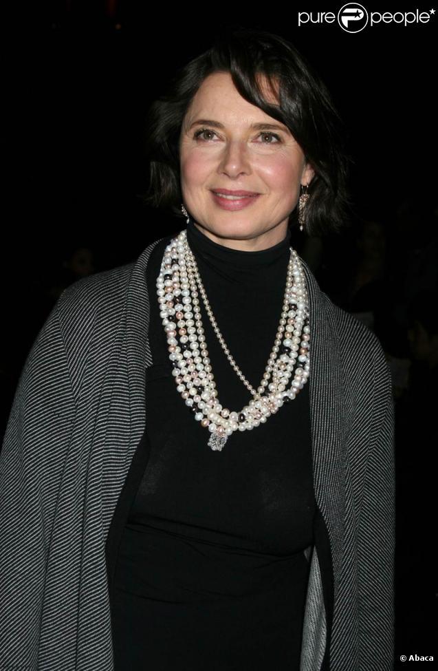 Isabella Rossellini revient sur sa rupture d'avec David Lynch.