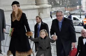 La famille royale de Belgique à nouveau réunie dans le deuil...