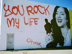 Une peinture murale à la gloire de Marion Cotillard à Hollywood...
