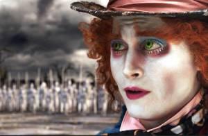 Regardez les extraits d'Alice au pays des merveilles avec Johnny Depp et Helena Bonham Carter !