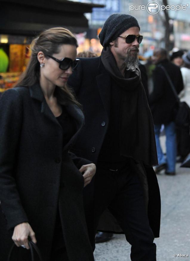 Brad Pitt et Angelina Jolie