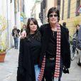 Ronn Moss et Devin DeVasquez à Milan, en Italie, filent le parfait amour. 1/03/2010