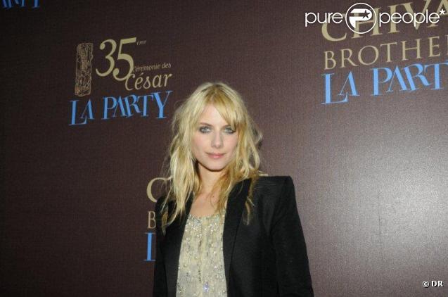 Mélanie Laurent à La Party, organisée par l'Académie des Arts et Techniques du Cinéma et Chivas. 27/02/2010