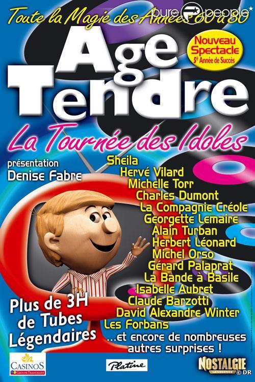 Le producteur de la tournée Âge tendre et tête de bois proteste : son spectacle n'est même pas nominé aux Victoires de la Musique 2010.