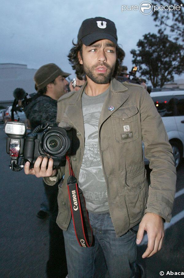 Adrian Grenier et son appareil photo...