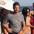 Gerard Butler sous le soleil de Rio avec Nicole Scherzinger