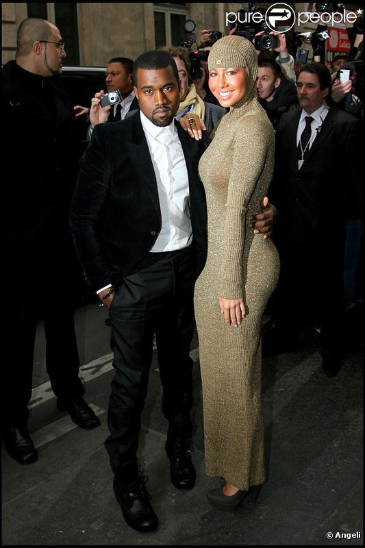 amber rose and kanye west. Kanye West et Amber Rose