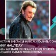 Johnny Hallyday remporte la Victoire de la Tournée de l'année pour son Tour 66. Résidant à Los Angeles, il a enregistré un émouvant message de remerciements.