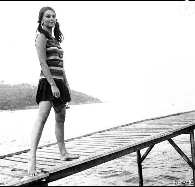Natalie Wood à Saint-Tropez, en 1967 !