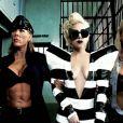 Lady Gaga atteint les sommets du  weird  et du pop-art avec Jonas Akerlund et Beyoncé dans le clip tarantinesque de  Telephone  !