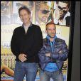Thierry Lhermitte et Fred Testot pour  Le Siffleur , 5 janvier 2010 !
