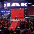 Emmanuel Philibert de Savoie et Pupo présentent l'émission Ciak si canta. 12/03/2010