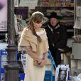 Angelina Jolie à l'occasion du tournage de  The Tourist , en mars 2010 .