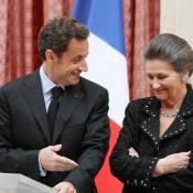 Nicolas Sarkozy : Sous pression, le président fait la girouette... mais n'oublie pas son amie Simone Veil ! Sans rancune !