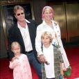 Christie Brinkley, Peter Cook et leurs deux enfants, en 2004. Aujourd'hui, Jack Paris a 14 ans et Sailor a 11 ans.