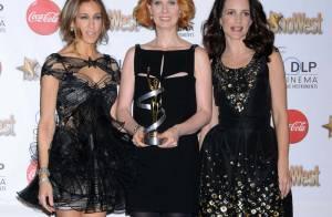 Katherine Heigl : Tellement émue de recevoir un prix... qu'elle en perd sa robe !
