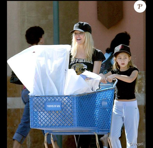 Heather Locklear et sa fille Ava