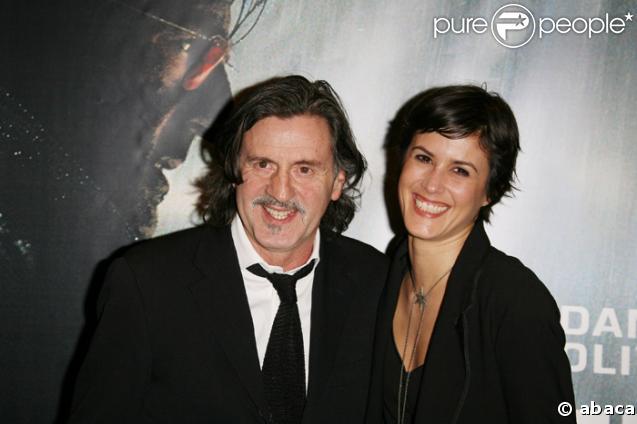 Daniel Auteuil et Olivia Bonamy à la Première de MR73