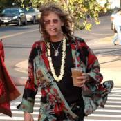 Steven Tyler d'Aerosmith fait son nabab à Hawaï !