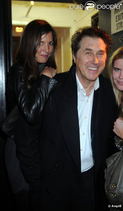 Amanda Sheppard et Bryan Ferry à Londres le 24/03/10