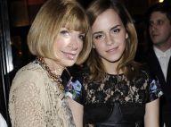 Anna Wintour s'élève enfin contre la maigreur des mannequins et fait la fête avec la superbe Emma Watson !