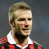 David Beckham a son grand-père dans la peau...