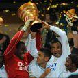 L'Olympique de Marseille remporte la Coupe de la Ligue