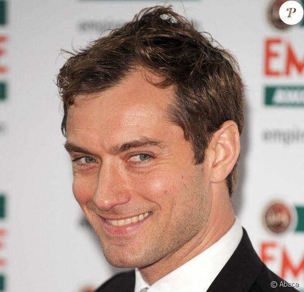 Jude Law lors des Empire Film Awards à Londres le dimanche 28 mars 2010