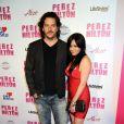 Shannen Doherty et son petit-ami Kurt Iswarienko lors de la fête d'anniversaire des 32 ans de Perez Hilton au Paramount Studios à Hollywood le 27 mars 2010