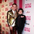 Liza Minnelli et Perez Hilton lors de la fête d'anniversaire des 32 ans de Perez Hilton au Paramount Studios à Hollywood le 27 mars 2010