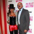 Melanie Brown et son mari Stephen Belafonte lors de la fête d'anniversaire des 32 ans de Perez Hilton au Paramount Studios à Hollywood le 27 mars 2010
