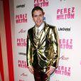 Perez Hilton lors de sa fête d'anniversaire au Paramount Studios à Hollywood le 27 mars 2010