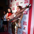 La très sexy Katy Perry et Perez Hilton lors de la fête d'anniversaire des 32 ans de Perez Hilton au Paramount Studios à Hollywood le 27 mars 2010