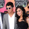 Demi Lovato et Joe Jonas, aux Kids' Choice Awards, à Los Angeles, le 27 mars 2010 !