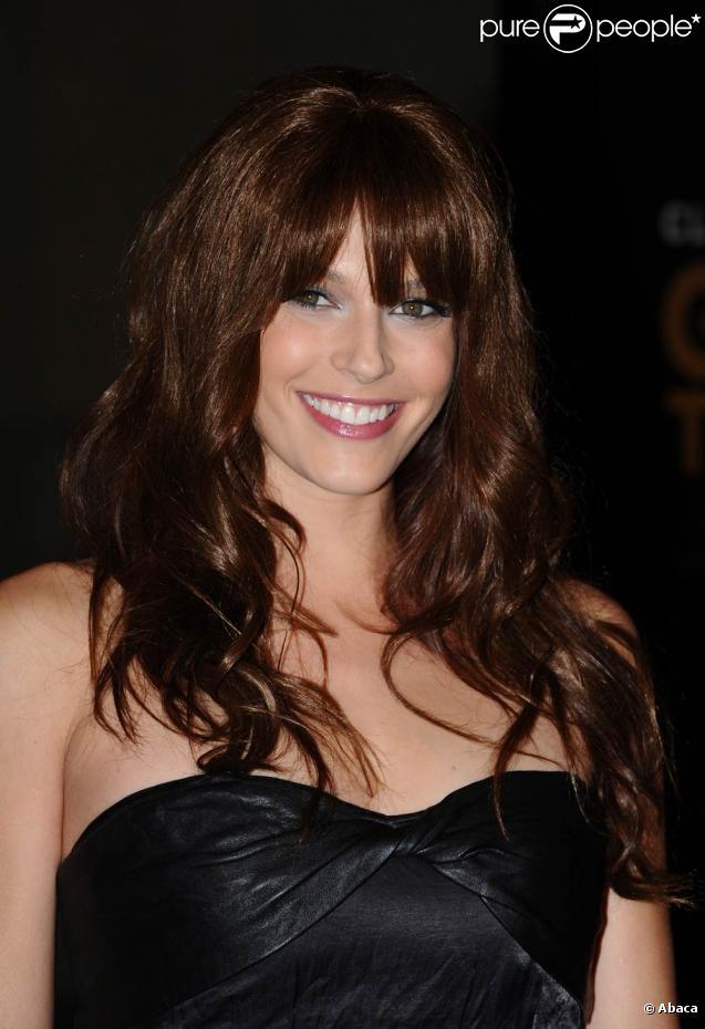 La très jolie Amanda Righetti, une beauté qui irradie les tapis rouges du monde entier...