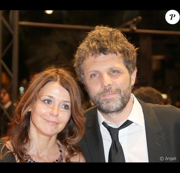Stéphane Guillon et sa compagne Muriel Cousin