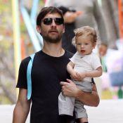 Tobey Maguire, son petit dernier a un point commun avec la fille de Courteney Cox : ils sont à croquer !