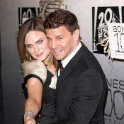 Emily Deschanel et David Boreanaz de ''Bones'', terriblement complices, pour une fête très spéciale !