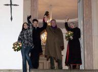 La reine Margrethe de Danemark s'expose... avant de faire la retraite aux flambeaux en famille !