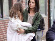 Katie Holmes : même en plein tournage, elle ne peut pas se passer de sa fille !