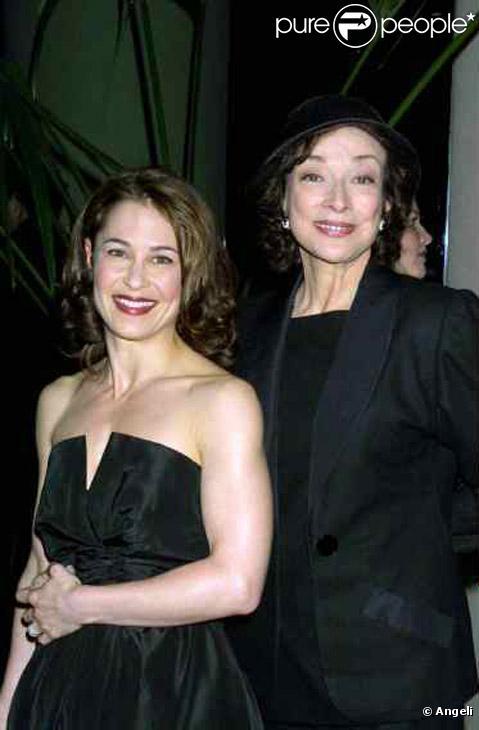 Dixie Carter et Julie Warner en mars 2001