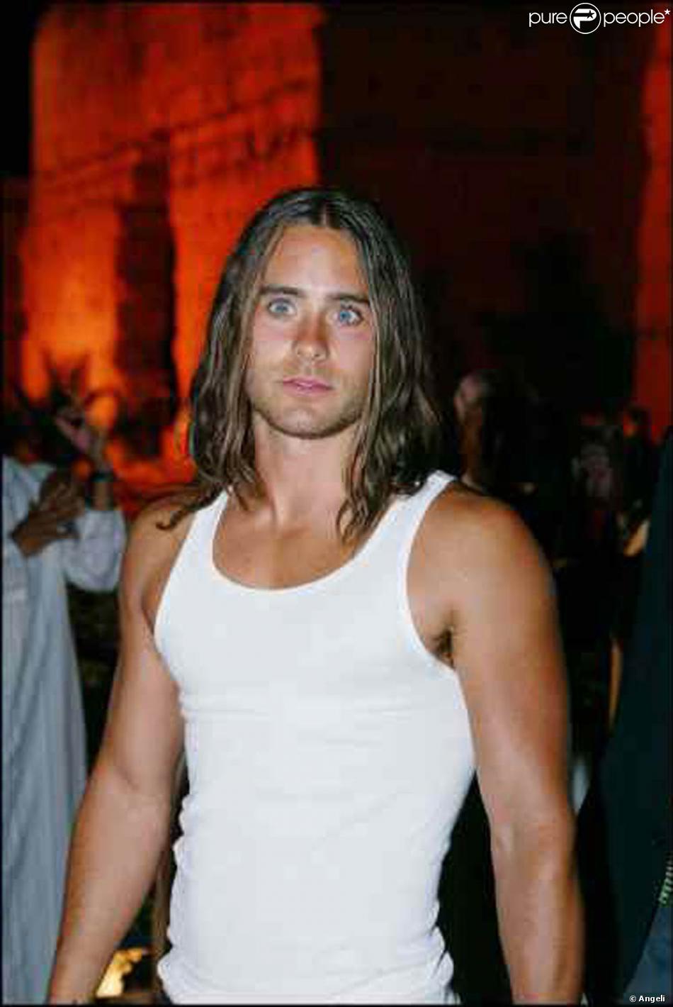 Jared Leto se prend pour Brad Pitt en octobre 2003.